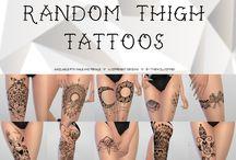 Sims 4 cc tattoos