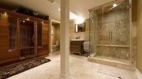 Bathrooms in basement