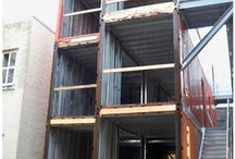 Container / Prefab Homes / Small Homes / by Ms. February