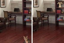 Spot The Difference / Having fun with wood flooring and tile flooring! Can you spot the difference? / by Floor & Decor