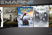 8 Mart ,Haftası Cinemarine'de vizyona Giren Yeni Filmler