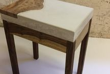 Handcrafted hardwood furniture / Handcrafted one of a kind upcycled furniture and accessories.