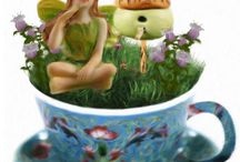Pics from Fairy Garden Tutorials / Artwork and pics from our fairy garden blog and fairy garden tutorials.