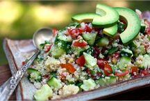 SOUPS AND SALADS / vegan soups and salads