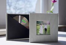Etui na płyty / Elegancki pomysł na przechowywanie płyt CD/DVD.