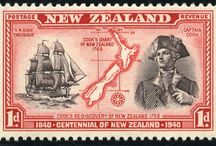 Stamps - OCEANIA / Australia - Cook Islands - Fiji - Marshall Islands - Micronesia - New Zealand - Palau - Papua New Guinea - Pitcairn Islands - Samoa - Solomon Islands - Tonga - Tuvalu - Vanuatu