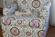 Upholstering furniture