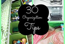 Organizing tips / A board all about staying organized and productive at home, on the go and all times in between