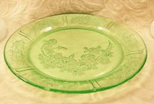 Design and Decor - Depression Glass and more... / It's cool that most of this was just given away in store offers originally.  It's so popular now that there are tons of reproductions out there so be careful.