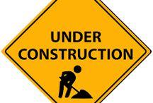 Under construction skylt