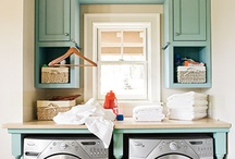 laundry closet / by Kellie Smith