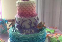 Sophie turns three