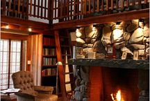 Cozy Reading Places / Places I could curl up for hours and read.