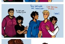 PJO / HOO / TOA & ancient greek stuff