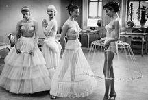 Crinoline, bustle, petticoat