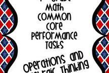 Math Performance Based Tasks