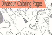 Kiddies Colouring Pages
