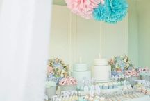 It's twins! / The colour scheme is going to be lavender and aqua(tuffany blue) with pops of creme! We are still going with a shabby chic vintage feel!
