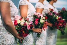BRIDESMAIDS ♡ / All brides want their best gals to be looking their gorgeous selves - especially in your wedding photos! From long and flowing, to all-white, to cocktail dresses they really can wear again, your #girlsquad can rest easy knowing we've got them covered!