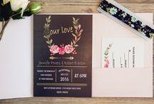 Blush Pink & Black Wedding