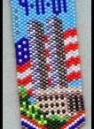 Beading Earrings Patriotic