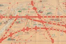 Tokyo and Japan maps 東京地図