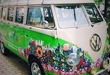 Volkswagons / The retro/funky world of VWs. / by Christie Padova
