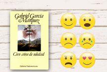Emotibook: Juegos de literatura / Juegos de literatura: comparte con el emoticono que mejor describa lo que sentiste al leer estos libros