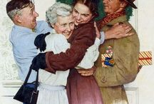 Norman Rockwell / by Julie Hail Dillon