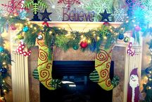 Christmas decorating / by Tricia Harvey