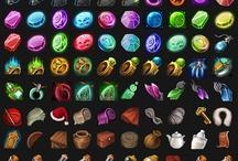 UI - item,icon