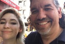 Look who we ran into! Look who we ran into!