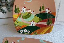 ceramica con relieve