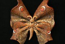 motýl hnědý