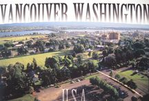 """Vancouver, WA, USA  / My current home.  Yes there is a Vancouver in the US, and Washington State is on the west coast not the east coast.  We like to say:  """"Vancouver, NOT BC.  Washington, NOT DC."""" / by Claire Rodman"""