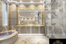 luxury bathroom by Algedra