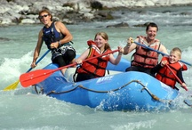 Whitewater Rafting / Exciting whitewater rafting experiences await you in the Canadian Rockies.  / by Explore Rockies