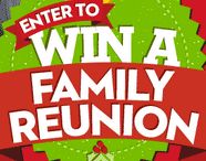 Reunion Contests / These are giveaways and contests whose prizes are money, services or products for reunions. We urge you to read the detailed rules and requirements, on individual contest web pages linked here. Look particularly for the number of entries you are allowed to submit; some are one only but many others can be entered once a day. Urge your reunion members to enter also to increase your chances of winning. / by Reunions Magazine