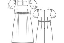 Clothing patterns / by Kirsten