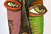 keramiek maskers