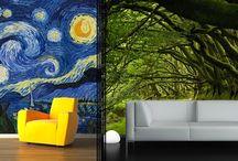 3 Boyutlu Duvar Kağıdı Modelleri / Kendinden yapışkanlı, resimli, müşterinin belirlediği ebatlarda, duvarın tamamını kaplayan, 3 boyutlu duvar kağıtları.