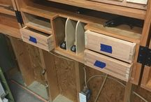 Tool cabinet details