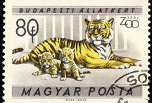 stamps HUNGARY
