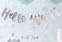 Rose Gold & Mint Green Baby Shower