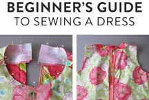 Beginners guide to sewing a dress