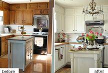 Kitchen remodel / by Cassandra Tucker