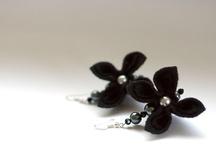 Felt Flower Earrings
