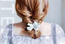Fryzury ślubne: warkocz dobierany