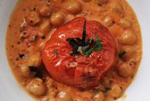 Vegetarian / Chickpea tomato curry