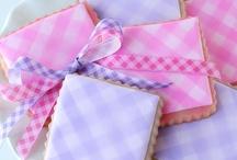 Sugar cookies/ prints/ pretty patterns